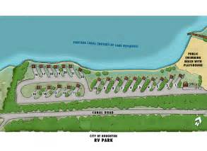 rv parks map city of houghton rv park
