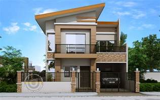 Two Story House Designs Modern House Designs Series Mhd 2014010 Pinoy Eplans