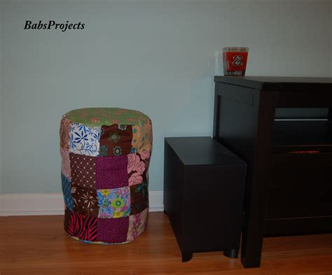 how to make a storage ottoman how to make a storage ottoman with leftover scraps of