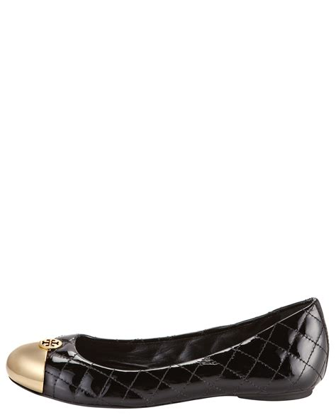 Burch Quilted Flats by Burch Kaitlin Quilted Ballerina Flat In Black Lyst