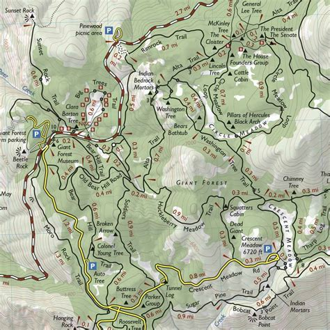 sequoia national park map climbing moro rock trail at sequoia national park what you need to follow greg