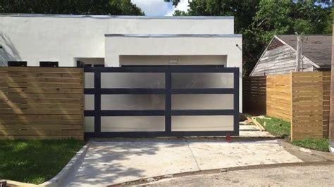 modern driveway gates automatic modern style driveway gate