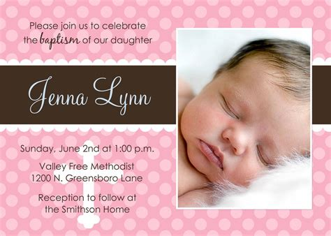 Child Dedication Invitation Card Template by Baby Baptism Invitations Baby Christening Invitations