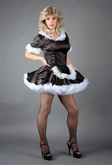women wearing short sissy dresses petticoats pictures photos cross dresssing new suddenly fem maid dress black