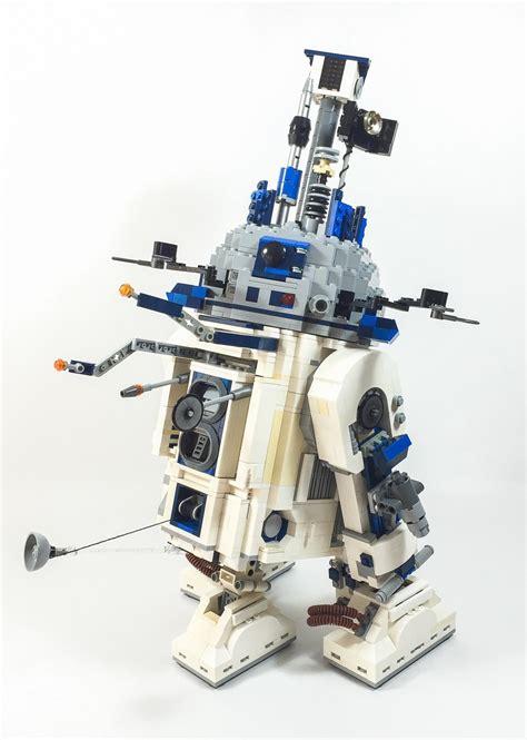 Lego Toolbox Lego Accessories legosaurus lego r2 d2 with tool attachments model by
