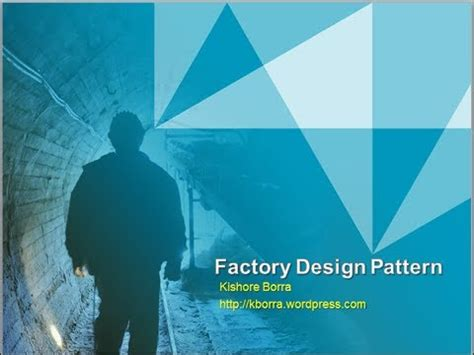 factory pattern youtube factory design pattern part1 youtube