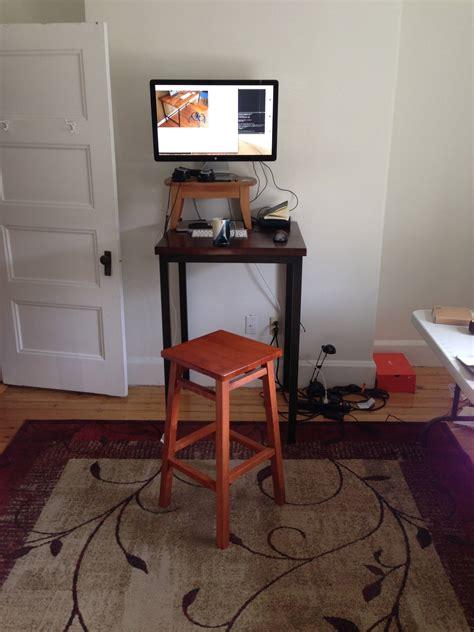 diy standing desk converter creative diy wooden standing desk converter decofurnish