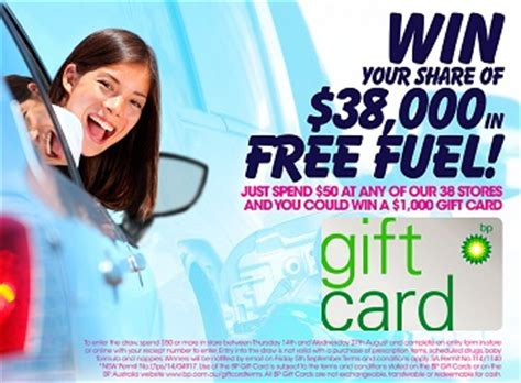 Fuel Gift Cards Australia - united discount chemist win 1 of 38 1000 bp fuel gift cards australian competitions