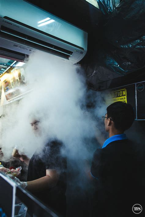 I Breathe You In With Smoke In The Backyard Lights by Singapore Diary Bugis The Food Scout