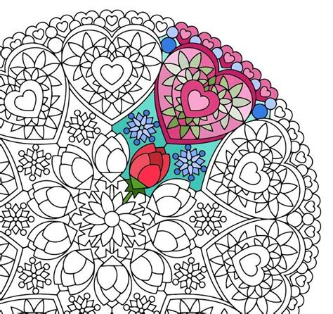 romantic mandala coloring pages 249 best candyhippie coloring images on pinterest
