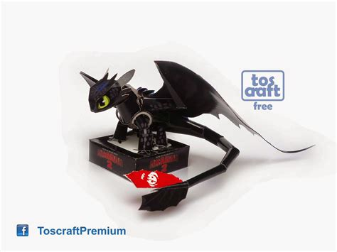 Fury Papercraft - tos craft toothless how to your 2 papercraft