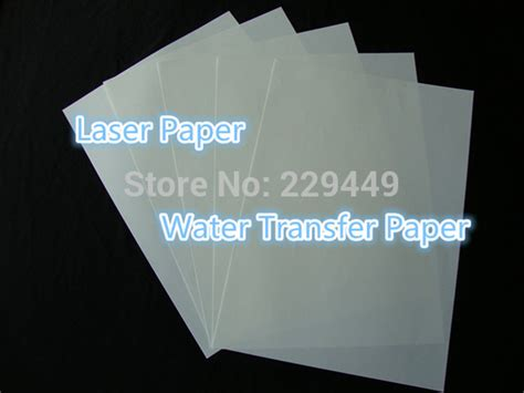water slide decal paper staples water slide decal paper 20 sheets freeshipping a4 transparent printing paper