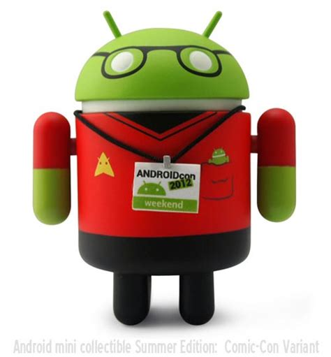android figures android collectible mini figure summer edition gadgetsin