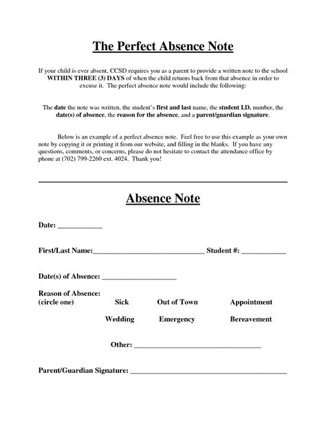 absent notes for school templates best photos of doctors note for school absence doctors
