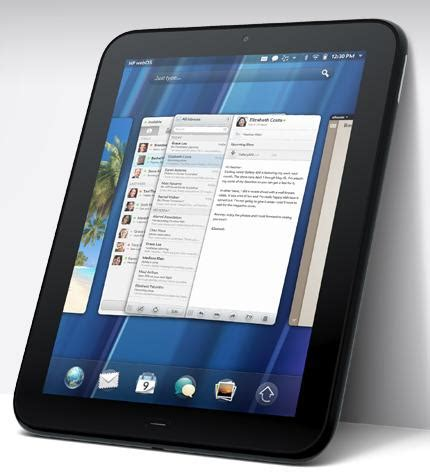 Hp Tablet Apple hp releases touchpad to rival the fame of the apple