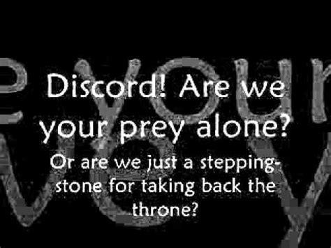 discord lyrics discord eurobeat brony the living tombstone remix
