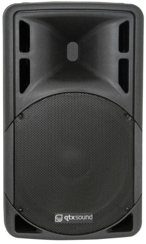W Audio Active Speakers by Qtx Sound Qrc12a 12 Quot 500w Active Speaker Djkit