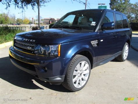 land rover metallic range rover sport 2013 blue www imgkid com the image