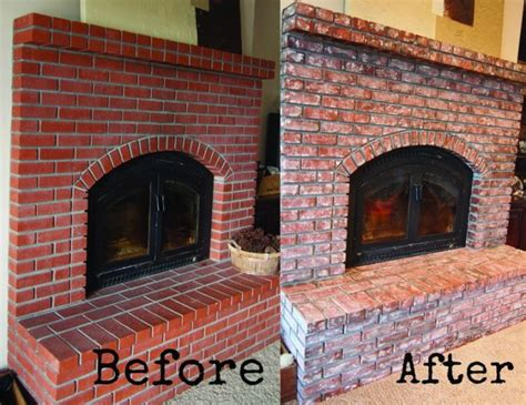 How To Age Brick Fireplace 1000 images about fireplaces on stains