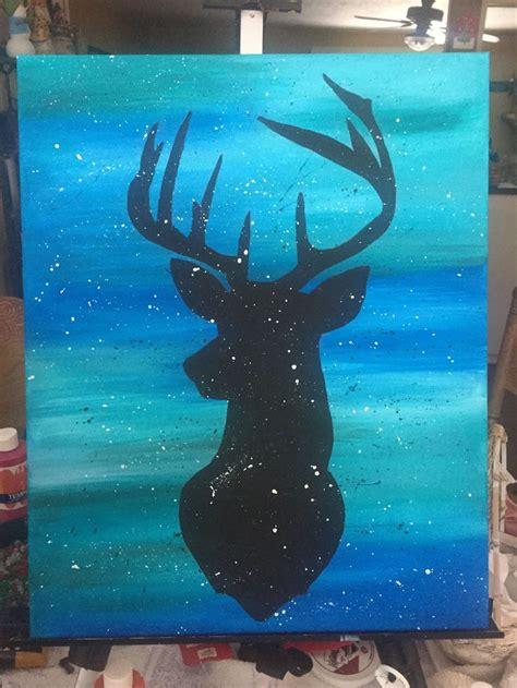 painting hello best 25 deer paintings ideas on deer drawing
