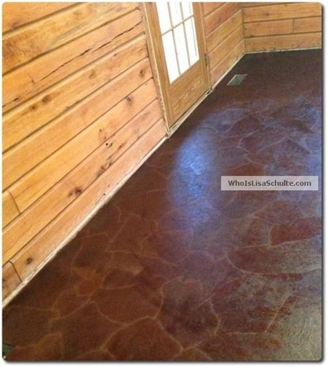 brown paper bag floor