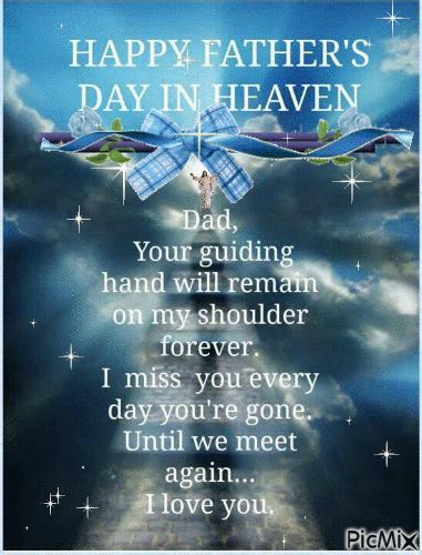 Happy Father's Day In Heaven Pictures, Photos, and Images