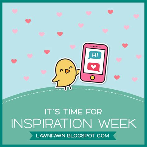 Inspirations This Week 2 by The Lawn Fawn Lawn Fawn Intro Letters Happy Mail