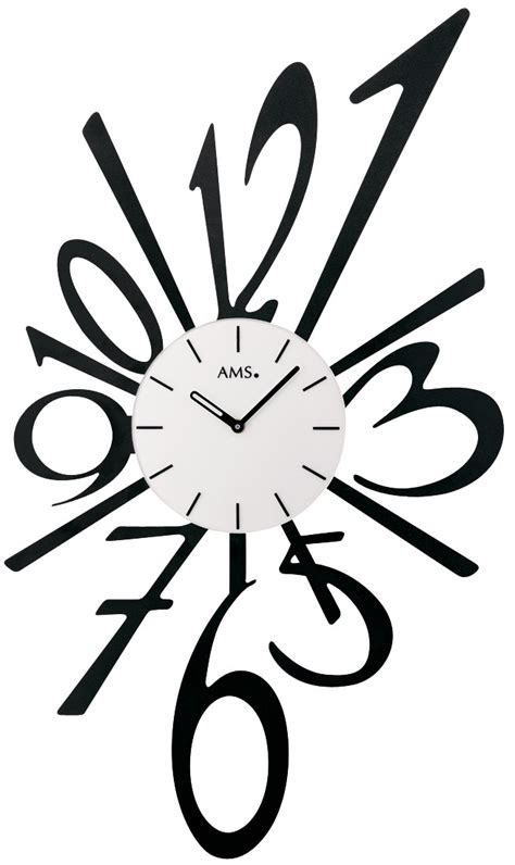 Extra Large Wall Clock by Pendule Murale Moderne