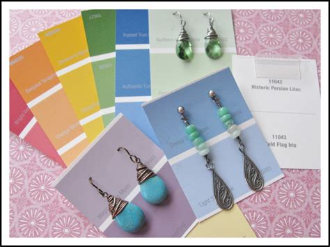diy earring card template diy earring cards that won t the bank rings and