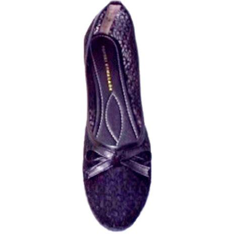 Sandal Wanita Riana Flat Shoes Wanita Navy Biru 002 supplier sepatu wanita