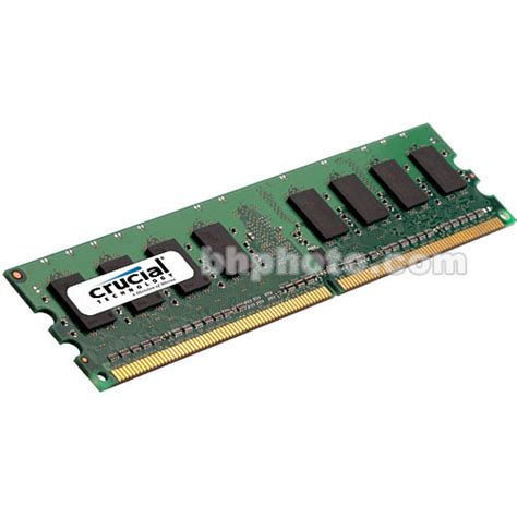 fb dimms crucial 4gb fb dimm memory for desktop ct51272af667 b h photo