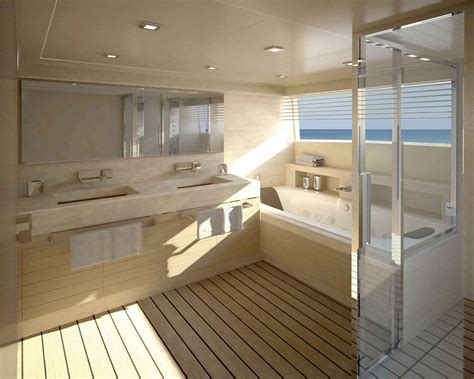 executive bathroom navetta 33 crescendo motor yacht master bathroom yacht