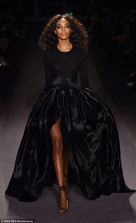 Catwalks Calling To Strut To by Hadid Struts For Brandon Maxwell Nyfw Show Daily