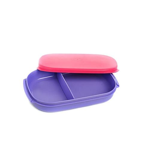 Tupperware Lunch Box Pink tupperware pink compact lunch box buy at best