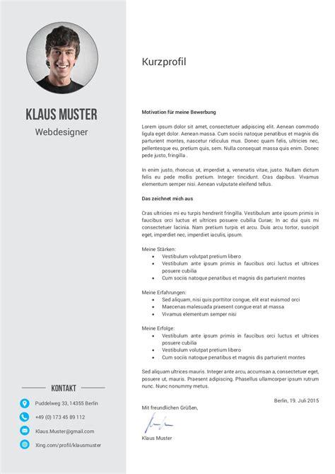 Motivationsschreiben Design Vorlage Premium Bewerbungsmuster 6 Lebenslauf Designs