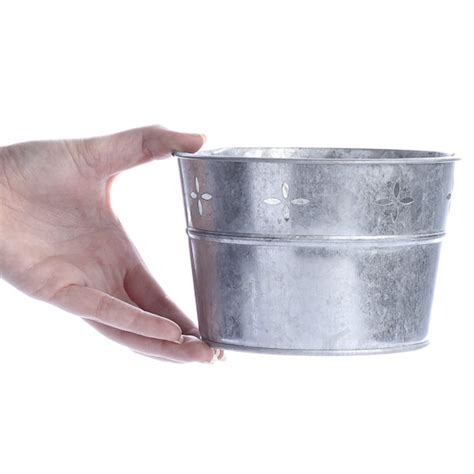 Galvanized Steel Bathtub by Galvanized Metal Tub Baskets Buckets Boxes Home Decor