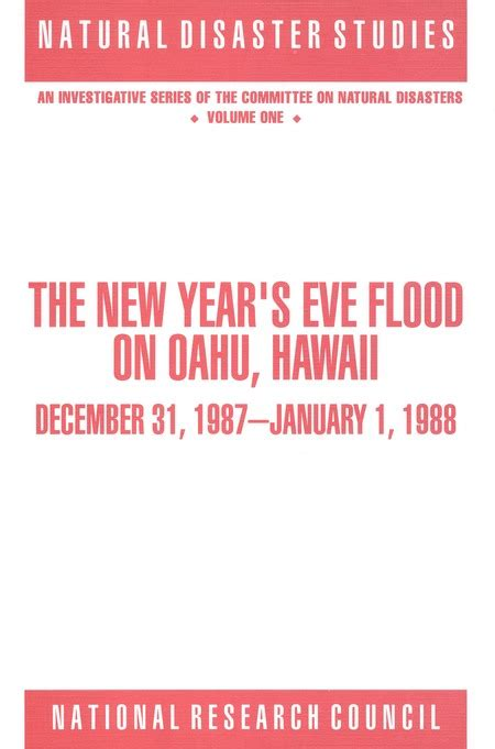 new year january 1988 the new year s flood on oahu hawaii december 31