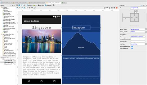 android studio set layout margin android constraint layout ignores margins properties