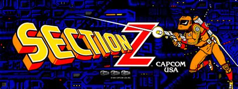 section z arcade section z set 1 rom