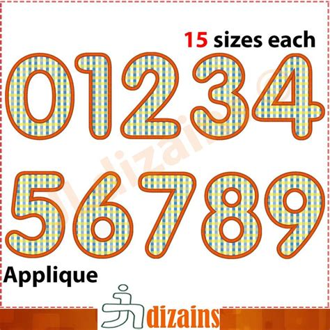 embroidery design number 31 best numbers applique designs images on pinterest