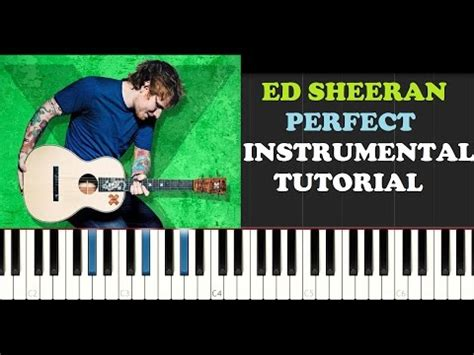 tutorial piano ed sheeran perfect instrumental cover mp3 download elitevevo