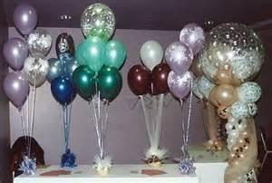 basic and arch top clear balloon centerpiece wedding centerpiece ideas