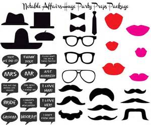photo booth props template free best photos of printable photo props glasses free
