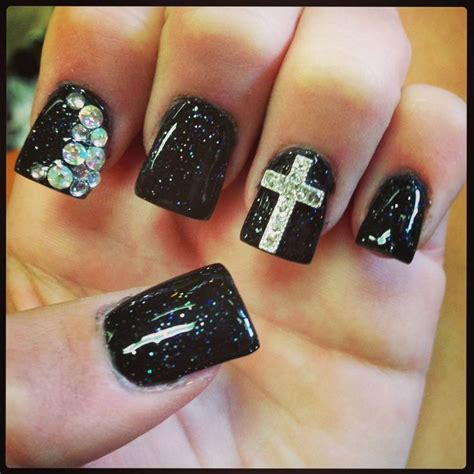 cross pattern nails gallery nail designs with crosses