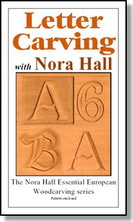 letter carving nora hall carving designs
