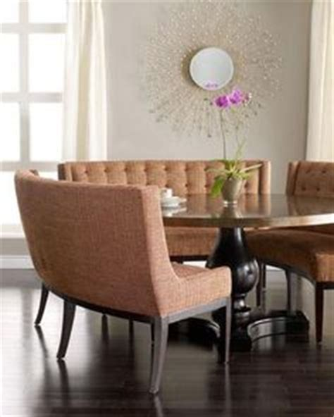 round dining table with banquette 1000 images about rounded banquettes on pinterest