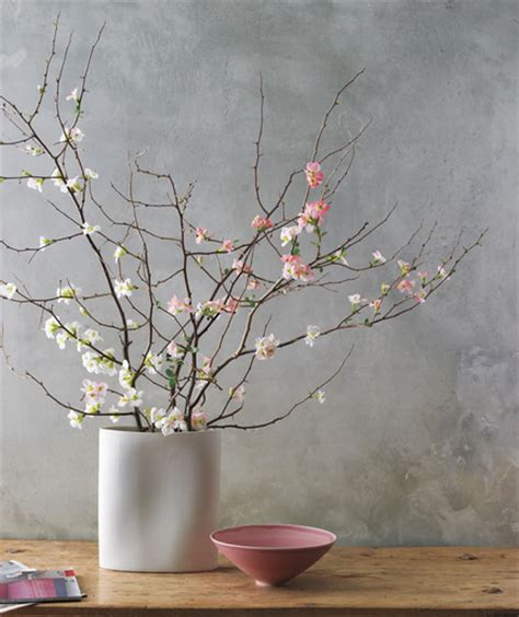 Branches For Vases by Today S Idea Easy Big Bouquet Of Fruit Tree Branches