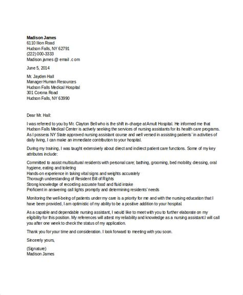 Work Experience Letter For Nursing Application Letter Volunteer