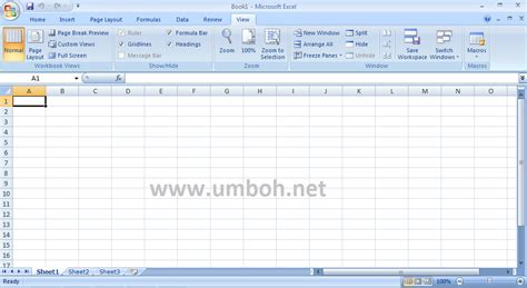 fungsi layout tab fungsi tab menu page layout microsoft excel 2007 berbagi