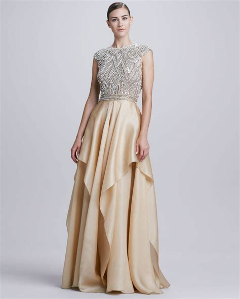 Evening Dress Wedding by Naeem Khan Evening Gown